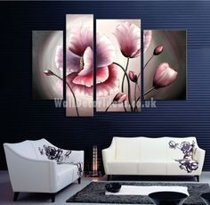 Flower oil painting contemporary abstract art canvas hand painted modern home office hotel wall art decor Wall Painting Flowers, Oil Painting On Canvas, Canvas Wall Art, Contemporary Abstract Art, Contemporary Artists, Modern Contemporary, Flower Canvas, Flower Oil, Decorating With Pictures