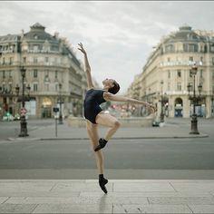 Ballerina Project in Paris: #Ballerina - @katieboren1 at #PalaisGarnier #Paris #Bodysuit by @wolfordfashion #Wolford #WolfordBodywear #WolfordSocks #LouieFormingStringBody #ballerinaproject_ #ballerinaproject #ballet #dance