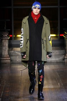 Moschino - Autumn/Winter 2016-17 Menswear London Fashion Week