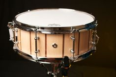 Canadian hard maple with black walnut pinstripes, lacquer / beeswax finish and tube lugs.