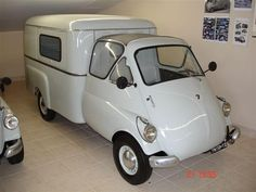 Want to have it! 1955 Isocarro 500 Furgone