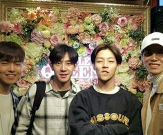 The Rose #Woosung #Jaehyung #Dojoon #Hajoon