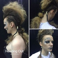 Kyanne Wagensveld's (@kyalicious) HBIA Definition of Fashion look at @Hairexpo Assisted by @hairbysimonebeales Photo Credit: Enrique Bismarck Model: @caitspiker  #hairexpo2016 #hairexpo #ahfaaustralianhairdresseroftheyear #headingoutacademy #hohb_aus #caterinadibiase #melbournehairdresser #avantgardehair #hairart #hairinspiration #saloneducation #HBIA2016