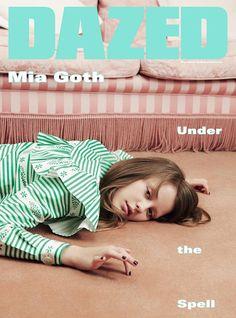 Mia Goth in Dazed & Confused Magazine Fall 2015