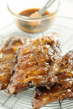 Slow Cooked Apricot Ribs