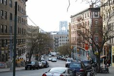 Love this view. Washington Heights, NYC - a block from @Nicole von Buelow