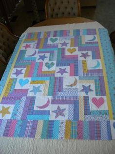 "Quilting Ideas | Project on Craftsy: ""Cletus"", the first quilt"