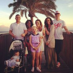 Jade and her family.