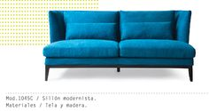 Mueble Interior Mod. 1045C #muebles #sillon #salas #minimalista