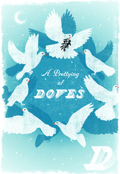 Because who can resist a prettying of doves?