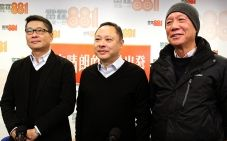 Occupy co-founders Dr Chan Kin-man, Benny Tai Yiu-ting and Reverend Chu Yiu-ming are among 30 key members of the civil disobedience campaign who will be told to report to police. Photo: May Tse