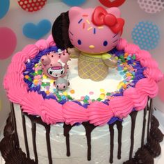Deposit for Lovely Kitty Birthday Cake Topper Kitty Figurine