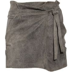 IRO Litov Leather Paperbag Skirt
