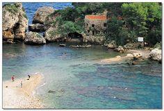 Isola Bella in Taormina, Sicily. So beautiful and relaxing. #taormina #sicilia #sicily