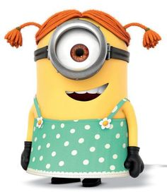 How to Draw Stuart the Minion Dressed as a Girl from Despicable Me.   Minions Movie   In Theaters July 10th