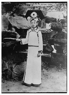 Wife of Hsuan - Tung (LOC)Hsuan-t'ung is the Wade-Giles spelling of Xuantong, a title of the Emperor of China. So this would be a wife of the Last Emperor of China