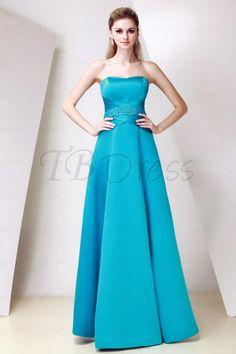 Elegant Sweetheart Neckline Rouched Waistline A-line Floor-Length Dasha's Bridesmaid Dress
