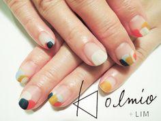 nail art by 'Less is More' Les Nails, Kawaii Nails, Short Nails Art, Minimalist Nails, Nail Treatment, French Nails, Spring Nails, Wedding Nails, Beauty Nails