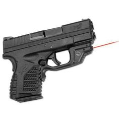 Springfield XD and Crimson Trace!