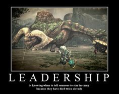 Leadership posted by Mordokai