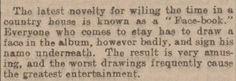 1902: Face-book