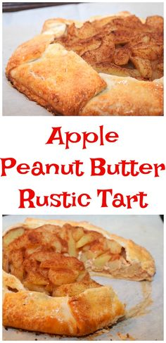 It's time for the Peanut Butter Bash! This month our ingredients were peanut butter and apples. I made this scrumptious dessert - Apple Peanut Butter Rustic Tart - so simple and delicious!