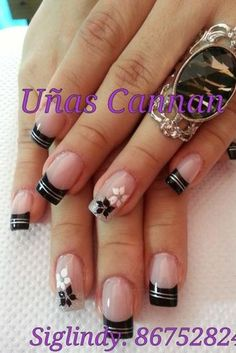 french nails tips Beauty Secrets French Nail Art, French Tip Nails, French Tips, Fabulous Nails, Gorgeous Nails, Fancy Nails, Trendy Nails, Nagellack Trends, Gel Nail Designs
