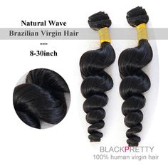 Unprocessed 6A Brazilian Natural Wave Virgin Hair from email : blackpretty@outlook.com  whatsapp : +86 13021696180 www.blackprettyhair.com