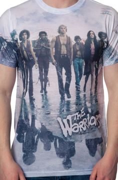 Sublimation The Warriors T-Shirt: 80s Movies The Warriors T-shirt