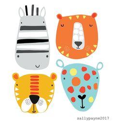 Hi Friday 🙋🏼#fridayfaces #friday #tgifriday #illustration #illustrator #characters