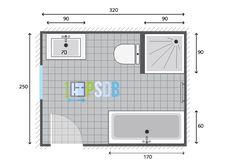 10 Idees De Plans Pour Grandes Salles De Bain De 7m2 A 13m2 Plan Salle De Bain Salle De Bain Bains
