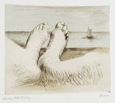 Henry Moore OM, CH 'Feet on Holiday II', 1979 © The Henry Moore Foundation, All Rights Reserved, DACS 2014