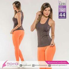 REF:1231 Blusa RIP y #leggings #EntrenaConEstilo #FitnessFashion #activewear #GymWear #modadeportiva #ToraBrasil #Ecommerce www.grupotora.com.co