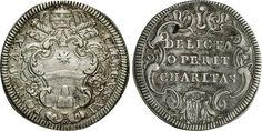 NumisBids: Numismatica Varesi s.a.s. Auction 65, Lot 805 : CLEMENTE XI (1700-1721) Giulio A. X, Roma. Munt. 86 Ag g 3,03...