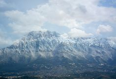 Oliena, Monte Corrasi, 4th January 2012