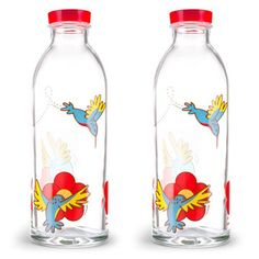 Hummingbird Feeder Set Of 2, $19, now featured on Fab. [Faucet Face]