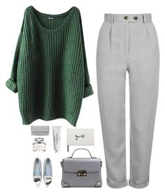 """""""Untitled #750"""" by heba-j ❤ liked on Polyvore featuring Topshop, Chiara Ferragni, Gucci, Byredo, STELLA McCARTNEY and Kate Spade"""