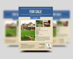 New Property Flyer Download Template Httpwwwstocklayoutscom - Real estate sales brochure template