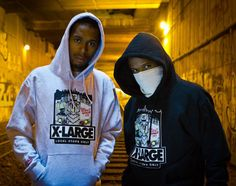 West NYC x X-Large - Hoodies & T-Shirts