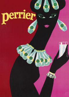 Perrier #France #Poster