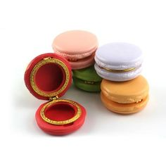 Sweet Little Macaroon Limoge Trinket Boxes