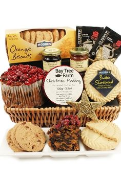 Our Christmas Basket Hamper makes a great gift!   http://www.eden4hampers.co.uk