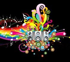HD Colors Of Music Wallpaper  Full HD  or  1920×1080 Colorful Music Wallpapers (46 Wallpapers) | Adorable Wallpapers