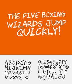 Chawp Free Font