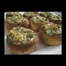 Crab Stuffed Mushrooms (Ideal Protein Friendly)