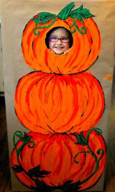 Photo Booth for a Harvest Party (Office Halloween Games)