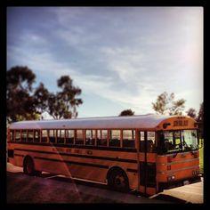 Yet another yellow-bus (Park Dale lane Elementary, Encinitas, California)