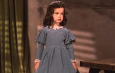 Cammie King as the ill-fated daughter in 'Gone With the Wind.'
