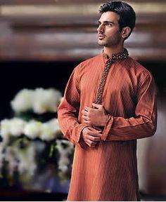 K263 Hand Embroidered Kurta, Bridal Salwar Kameez, Designer Men's Suit, Indian Pakistani Shalwar Kameez Kurta Suits