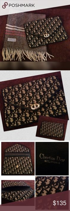 Selling this Authentic Vintage Christian Dior Clutch on Poshmark! My username is: pamelawilliams6. #shopmycloset #poshmark #fashion #shopping #style #forsale #Dior #Handbags